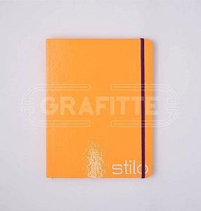 Caderno Stilo Pautado Costurado 80 folhas
