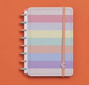 Caderno Inteligente A5 Arco-Íris 80 Folhas