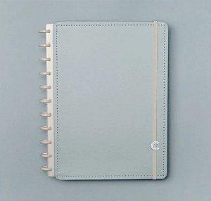 Caderno Inteligente Grande Azul Pastel 80 Folhas