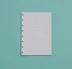 Refil Caderno Inteligente A5 Pautado 90g 50 Folhas