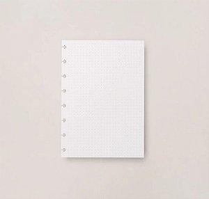 Refil Caderno Inteligente A5 Pontilhado 120g 30 Folhas
