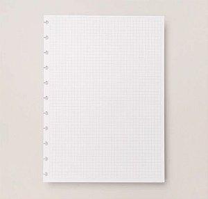 Refil Caderno Inteligente Grande Quadriculado 90g 50 Folhas CIRG4005