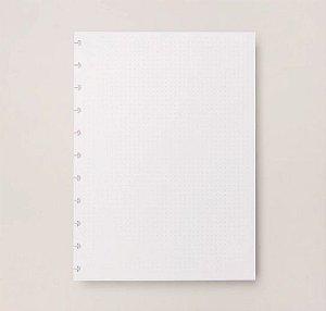 Refil Caderno Inteligente Grande Pontilhado 120g 20 Folhas CIRG4006