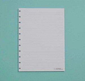 Refil Caderno Inteligente Grande Pautado 90g 50 Folhas CIRG4003