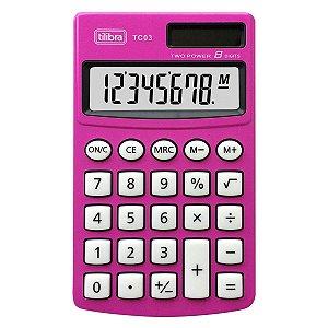 Calculadora Eletrônica TC03 Tilibra 8 dígitos