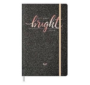 Caderno Costurado Shine Pontilhado 80 Folhas Tilibra