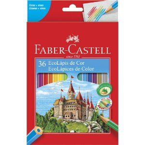 Lápis de Cor Faber-Castell 36 Cores