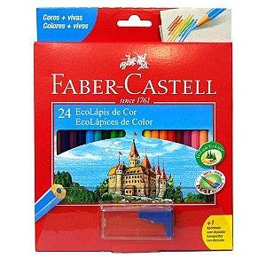 Lápis de Cor Faber-Castell 24 Cores