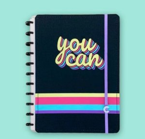 Caderno Inteligente Grande Ta Bom 80 Folhas