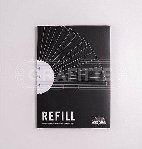 Refil Pautado A5 Caderno de Discos Atoma
