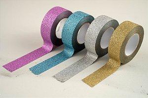 Fita Adesiva Washi Tape Glitter 15mmx10m
