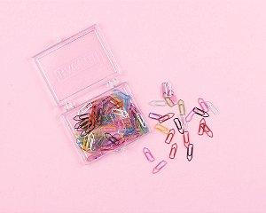 Clips Colorido nº5 caixa com 200un Bacchi