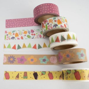 Kit Washi Tape Fun c/5 rolos