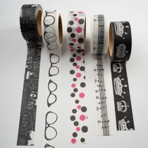 Kit Washi Tape Young c/5 rolos