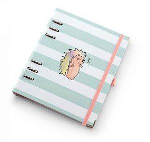Planner A5 Riccio Listrado Caderno Organizador 5991-0 Ótima Gráfica