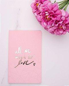 Caderno Flex Maxi Pontilhado Pink Stone 4519-7 Otima