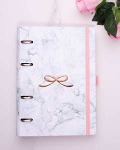 Planner Maxi Mármore Pink Stone 4526-5 Otima