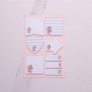 Conjunto Sticky Notes Riccio 5995-8 Otima