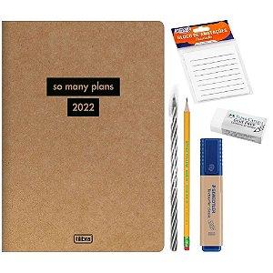 Kit Planner Kraftwork 2022 6pcs