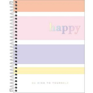 Caderno Colegial Happy Color 1M 80 Folhas Tilibra