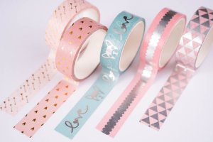 Washi Tape Decorada 1 Molin c/5un