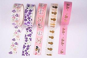 Washi Tape Decorada 3 Molin c/5un