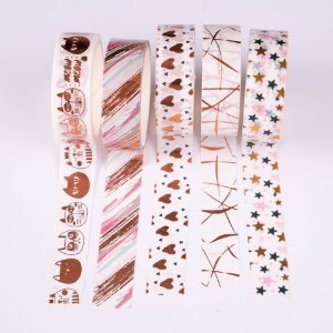 Washi Tape Decorada 5 Molin c/5un