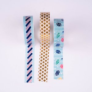 Washi Tape Decorada 4 Molin c/3un