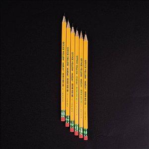 Lápis Preto Americano Yellow Molin