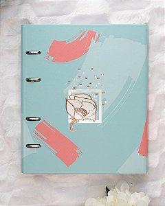 Caderno Argolado Fichário La Bela Ultra VD 6207-1 Ótima Gráfica