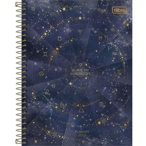 Planner Espiral Magic 2021 Tilibra 30438