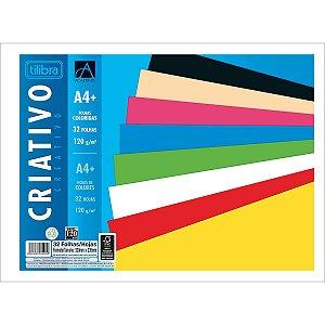 Bloco Papel Criativo Académie 32folhas 8 cores 120g