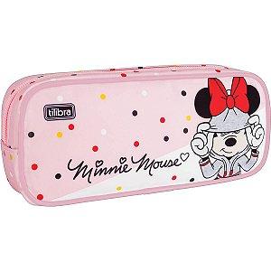Estojo Grande Minnie Tilibra
