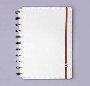 Caderno Inteligente Grande All White 80 Folhas