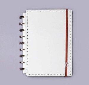 Caderno Inteligente Médio All White 80 Folhas