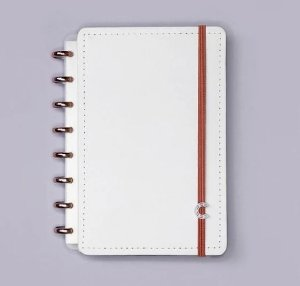Caderno Inteligente A5 All White 80 Folhas