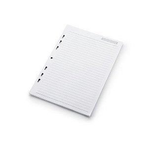 Refil Caderno Argolado Ultra Pautado 90G Ótima Gráfica 30 folhas