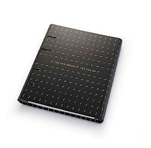 Caderno Argolado Ultra Noir 4635-4 Ótima Gráfica