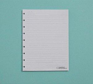 Refil Caderno Inteligente Médio Pautado 90g 50 Folhas CIRM3003