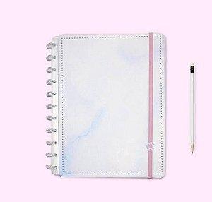 Caderno Inteligente Grande Malibu Pastel 80 Folhas