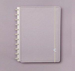Caderno Inteligente Grande Lilás Pastel 80 Folhas
