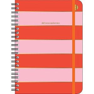 Caderno Perfeito Cicero Todas Juntas Pontado Colegial Color Block