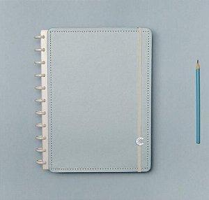 Caderno Inteligente Médio Azul Pastel 80 Folhas