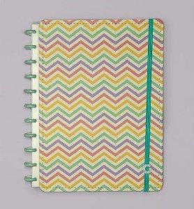 Caderno Inteligente Grande Popy 80 Folhas