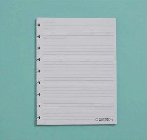 Refil Caderno Inteligente Médio Pautado 120g 30 Folhas CIRM3004