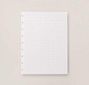 Refil Caderno Inteligente Médio Quadriculado 90g 50 Folhas CIRM3005