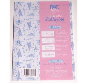 Monobloco Lettering DAC 80 folhas 90g