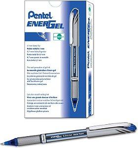 Caneta Gel Energel 0.7mm Azul BL27 Pentel