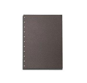 Refil Caderno Inteligente Preto 120g 10 Folhas