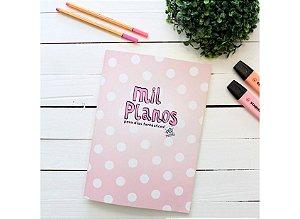 Caderno Flex Maxi Pautado Mil Planos